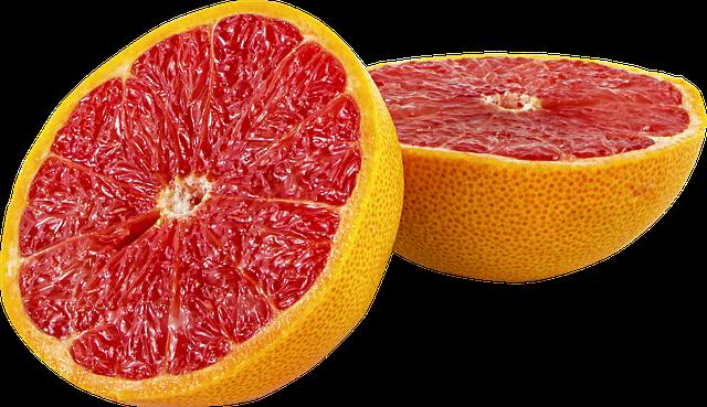 Clean bathroom grapefruit
