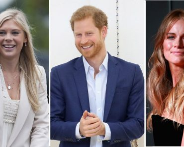 Prince Harry and his ex-girlfriend