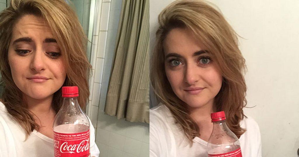 wash hair cola