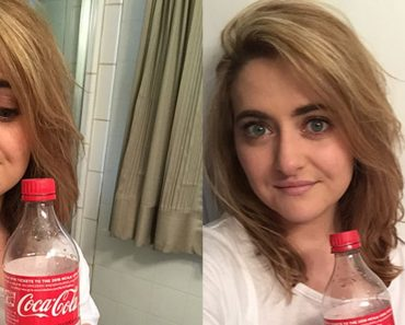 Strange but effective trick to Wash hair with cola