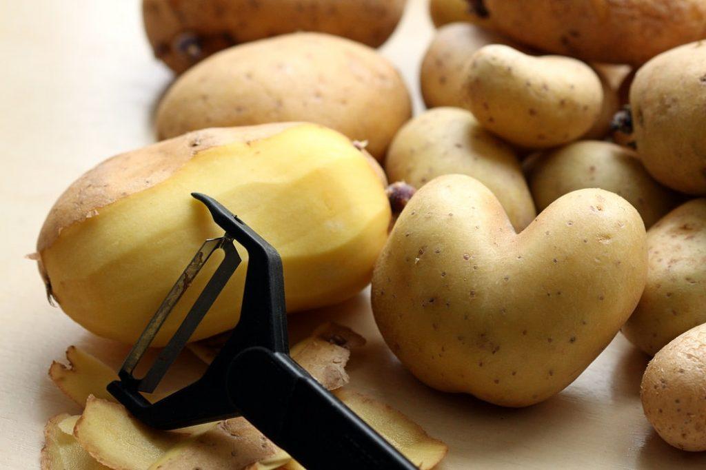 potato peels delicious