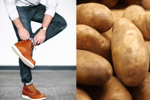 This is why putting potatoes in your shoes is a good idea.