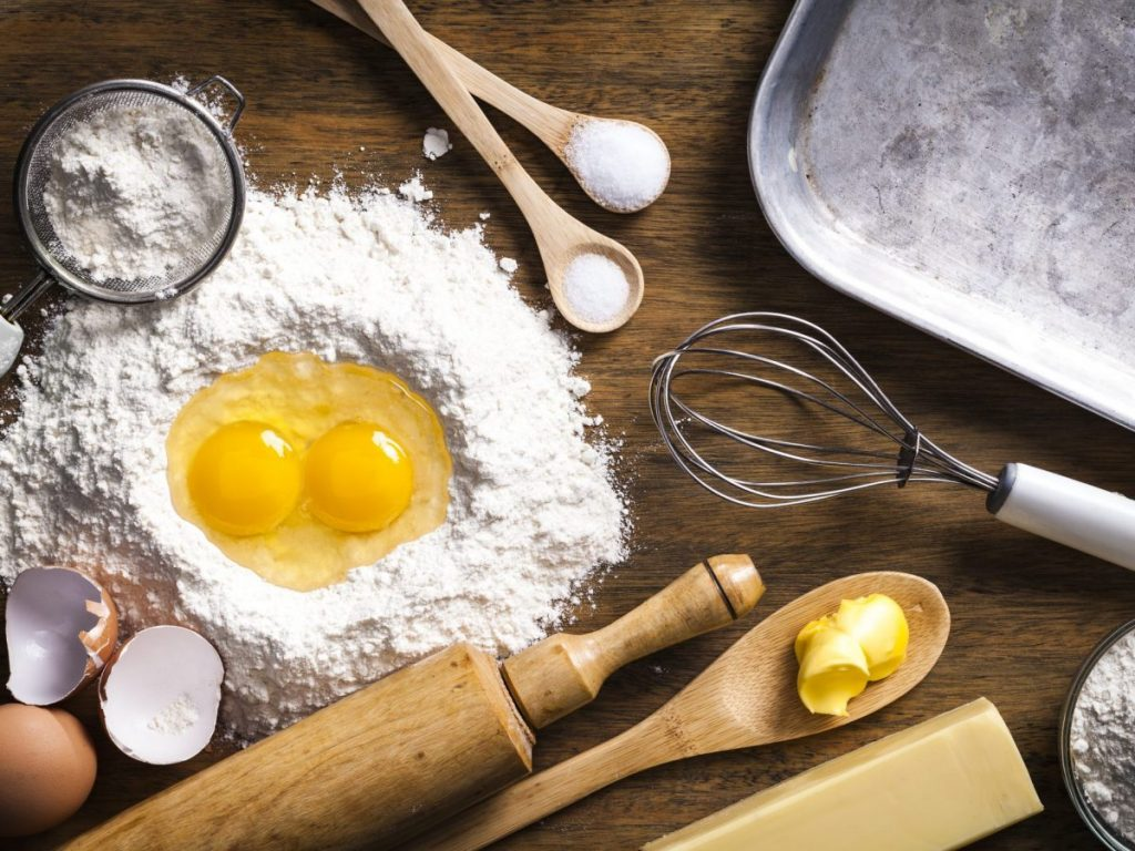 Egg Paste with Corn Flour - underarm or armpit hair removal naturally