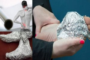 Mind Bowing Trick To Wrap Your Feet In Aluminium Foil- Brilliant Results