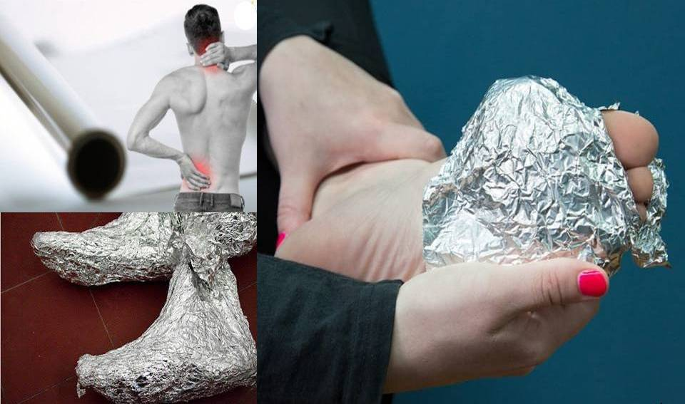 Wrap Your Feet In Aluminum Foil And Wait For 1 Hour! What Happens Next Will Surprise You